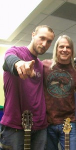 Steve Morse and Tiho